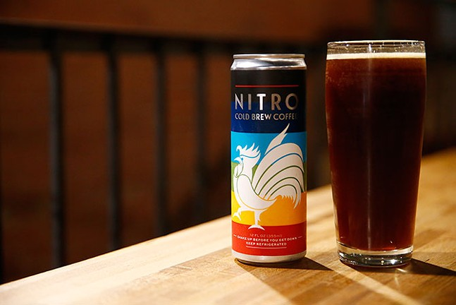 A NITRO COLD BREW COFFEE