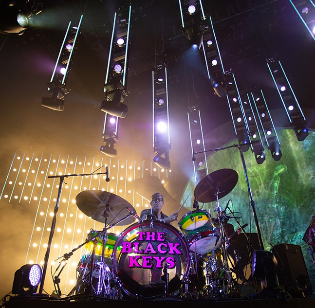 The Black Keys at PPG Paints Arena on Mon., Oct. 7, 2019 - CP PHOTO: ANDREW STEIN