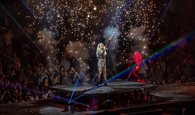 Carrie Underwood's The Cry Pretty Tour 360 at PPG Paints Arena on Sat., Oct. 12, 2019 - CP PHOTO: MIKE PAPARIELLA