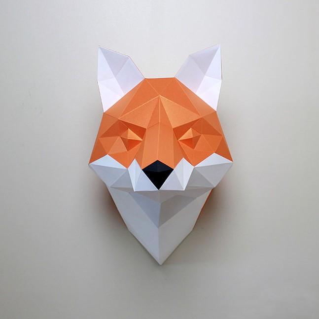 Resident DIY paper craft animal kit
