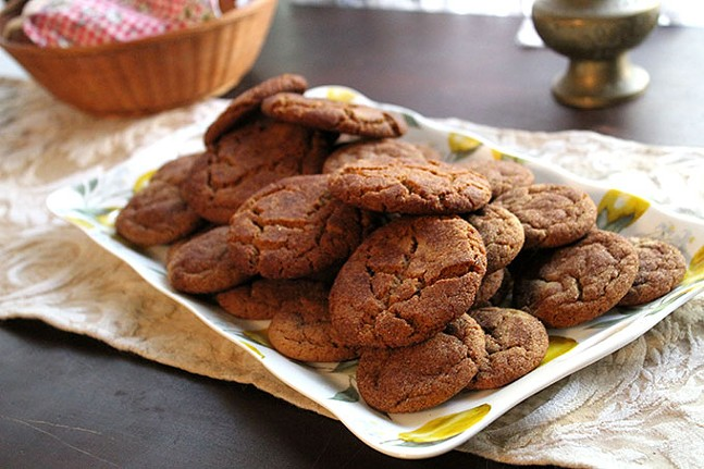 Critter snaps - ginger snaps made with cricket flour - CP PHOTO: JOIE KNOUSE