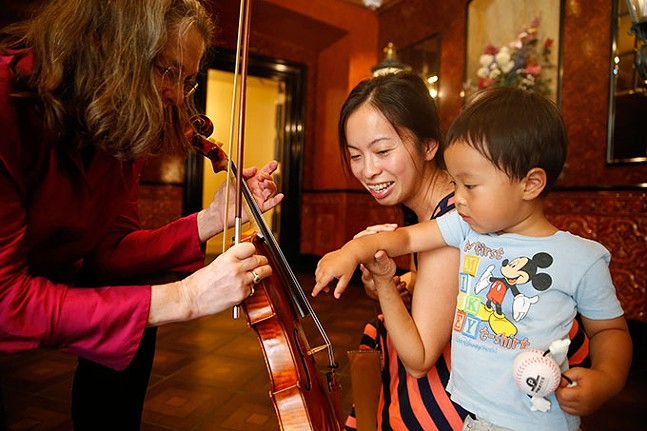 A sensory-friendly PSO concert at Heinz Hall - CP PHOTO: JARED WICKERHAM