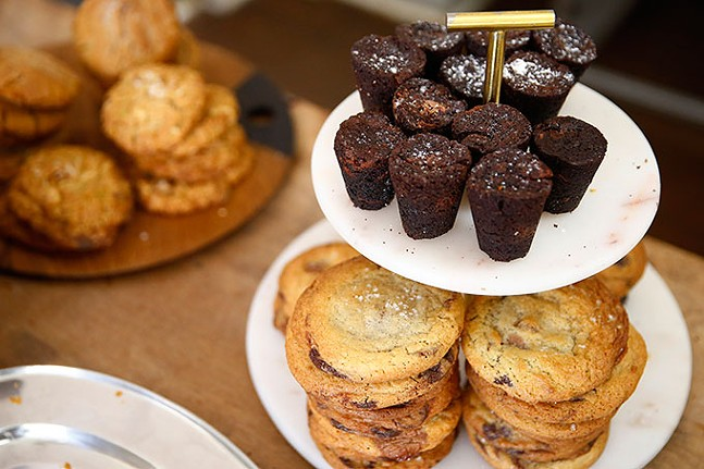 An array of baked goods are shown at Madeleine Bakery & Bistro - CP PHOTO: JARED WICKERHAM