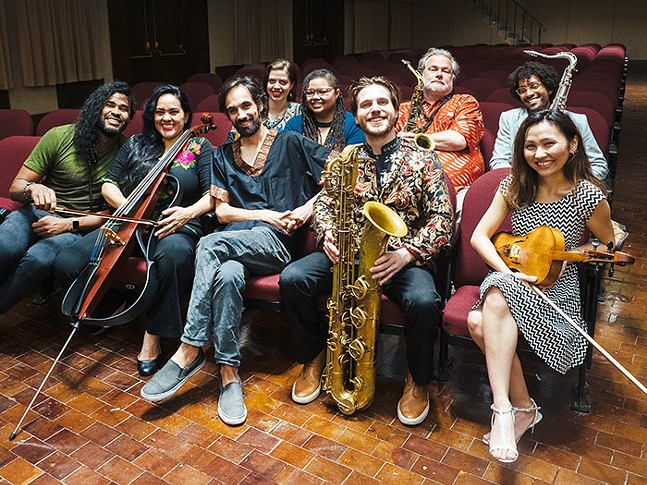 Afro Yaqui Music Collective - PHOTO: JARED MURPHY