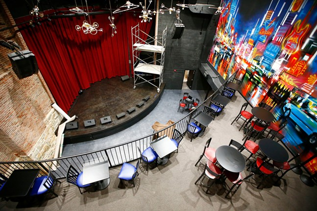Inside Thunderbird Music Hall - CP PHOTO: JARED WICKERHAM