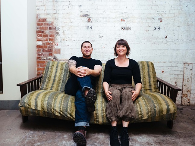 Glo Phase and Jocelyn Rent - CP PHOTO: JARED MURPHY