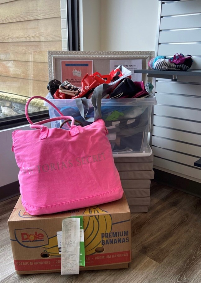 One of Healing Totes collection sites - THE BAR METHOD IN WEXFORD, PA