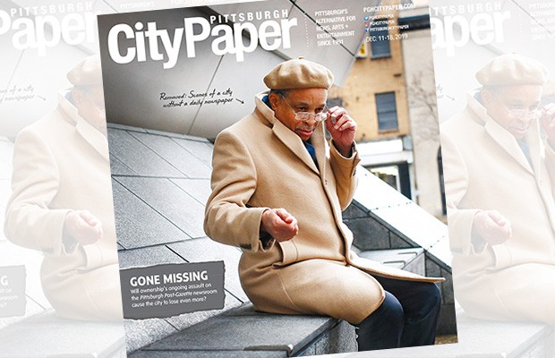 The Dec. 11 cover of Pittsburgh City Paper