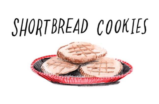 Grandmothers know best: an illustrated family recipe for shortbread cookies