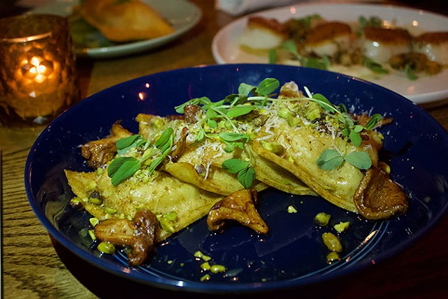 Sweet potato ravioli - CP PHOTO: JOIE KNOUSE