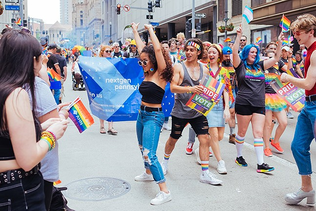 Scene from Delta Foundation of Pittsburgh's 2019 Pittsburgh Pride Equality March - CP PHOTO: JARED MURPHY