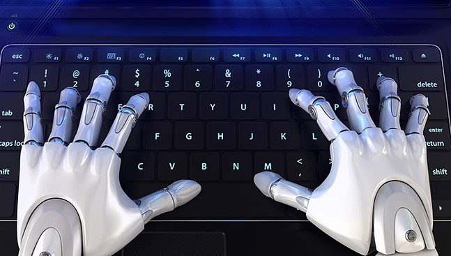 """We know tweet """"trollbots"""" aren't really robots, but it makes for good art. (Robots are nicer, though.)"""