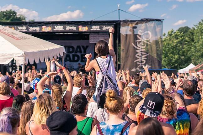 Mayday Parade at First Niagara Pavilion in 2016 - CP PHOTO: AARON WARNICK