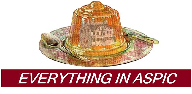 Literary magazine Everything in Aspic alludes to the kitsch of Jell-O to straddle the serious and the ridiculous