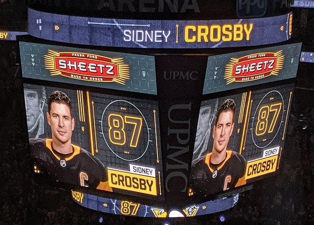 Sid the Kid's return announced on the big screen - CP PHOTO: LISA CUNNINGHAM