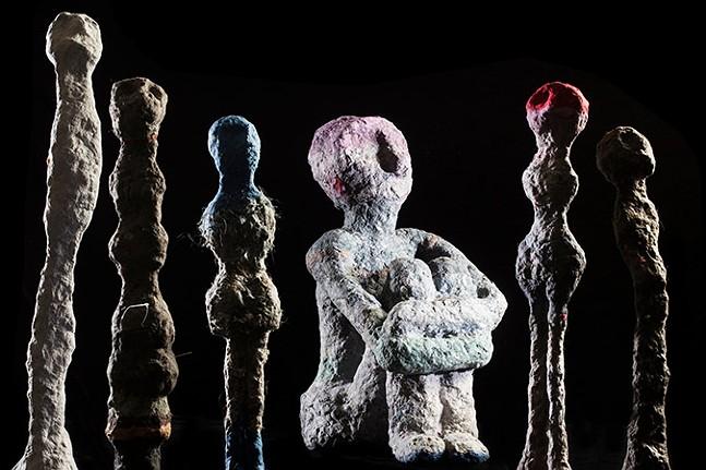 Cheryl Capezzuti's Discarded - PHOTO: LARRY RIPPEL