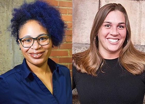 Olivia Benett and Bethany Hallam - COURTESY OF OLIVIA BENNETT AND CP PHOTO: JARED WICKERHAM