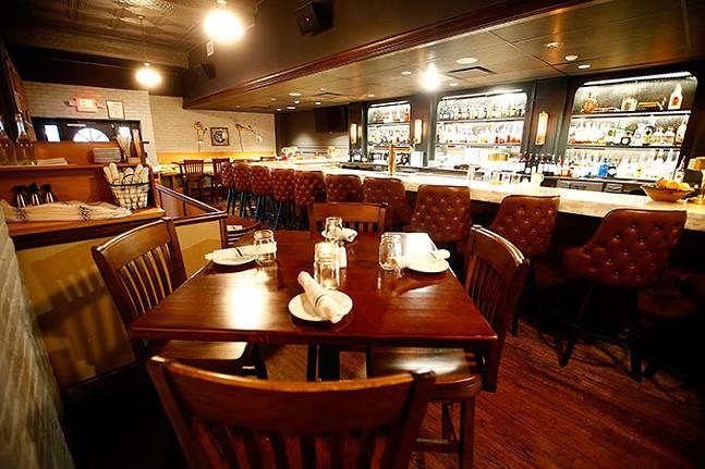 Inside Frick Park Tavern - CP PHOTO: JARED WICKERHAM