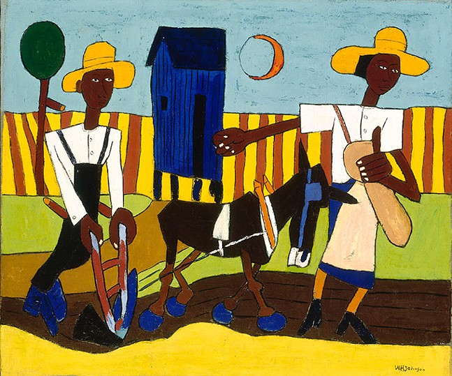 "William H. Johnson's ""Sowing"""