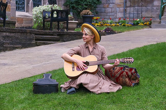 Lara Hayhurst in The Sound of Music - MELISSA WALLACE