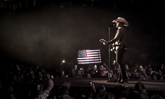 Justin Moore - PHOTO: CODY VILLALOBOS