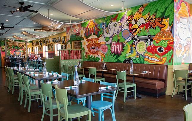 Inside KIIN Lao & Thai Eatery in Squirrel Hill - CP PHOTO: MEGAN GLOECKLER