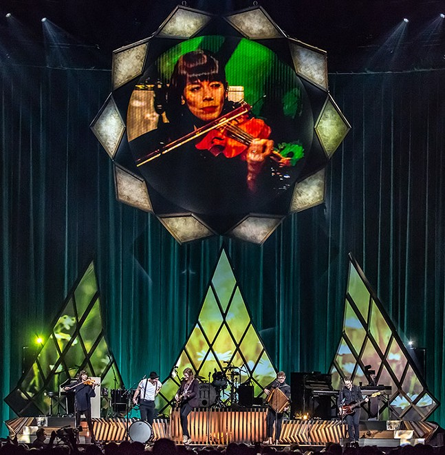 The Lumineers at PPG Paints Arena on Tue., Feb. 25, 2020 - CP PHOTO: MIKE PAPARIELLA