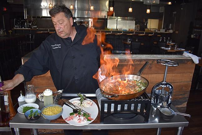 Spork Pittsburgh's executive chef Christian Frangiadis - PHOTO: SEAN ENRIGHT