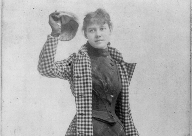 Nellie Bly, 1890 - PHOTO: UNITED STATES LIBRARY OF CONGRESS