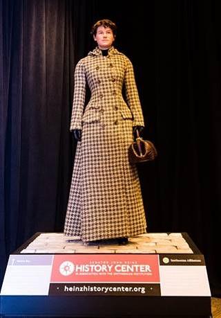 Nellie Bly figure at Pittsburgh International Airport - PHOTO: SENATOR JOHN HEINZ HISTORY CENTER