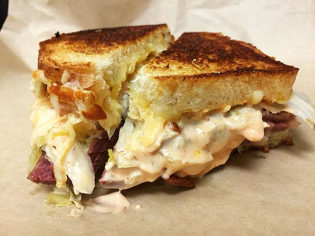 Grilled cheese with pickled ingredients - PHOTO: THE PICKLED CHEF
