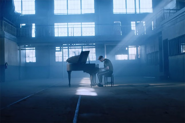 """Still from Kevin Garrett's video for """"Gone Again - MUSIC VIDEO DIRECTED BY RONA LIANA"""