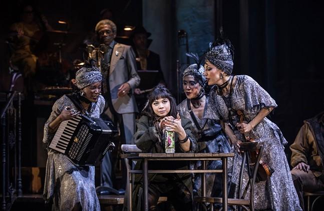 Original Broadway cast of Hadestown - PHOTO: MATTHEW MURPHY