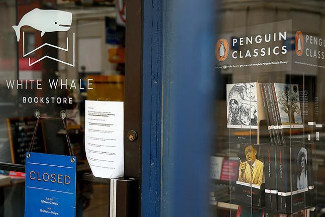 White Whale Bookstore in Bloomfield - CP PHOTO: JARED WICKERHAM