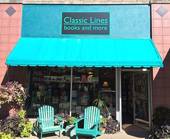Classic Lines Books - PHOTO: DAN IDDINGS