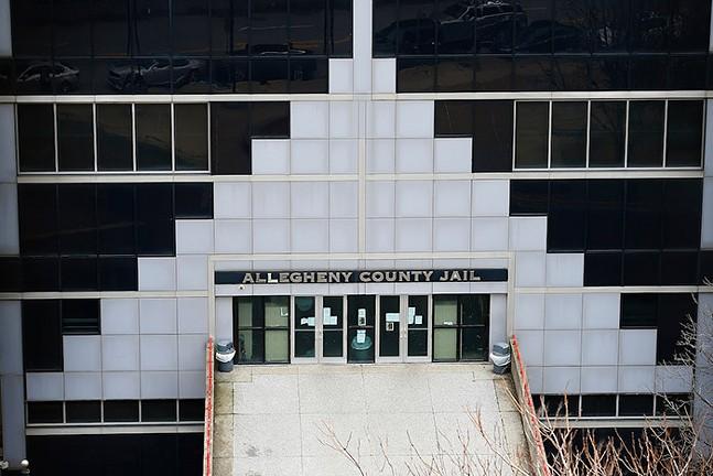 Allegheny County Jail - CP PHOTO: JARED WICKERHAM