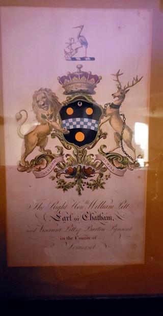 "William Pitt's original 1766 document declaring him the ""Earl of Chatham"" - PHOTO: JOHN SCHALCOSKY"