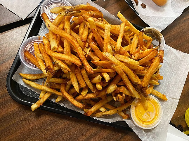 The O's much loved fries - CP PHOTO: BRYER BLUMENSCHEIN