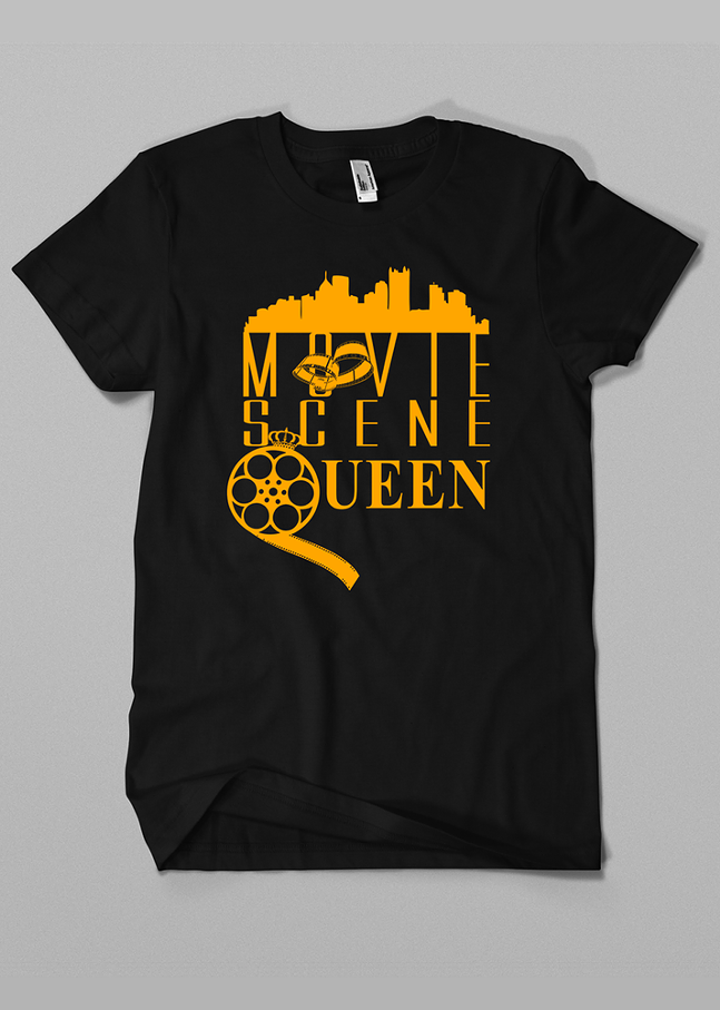 Movie Scene Queen T-shirt from Revival Print Co.