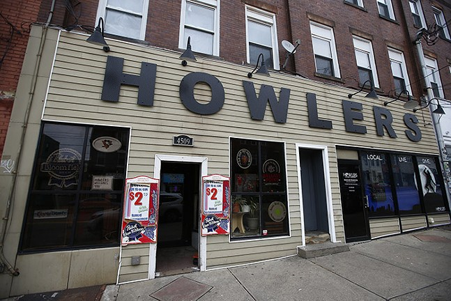 Howlers on Liberty Avenue in Bloomfield - CP PHOTO: JARED WICKERHAM