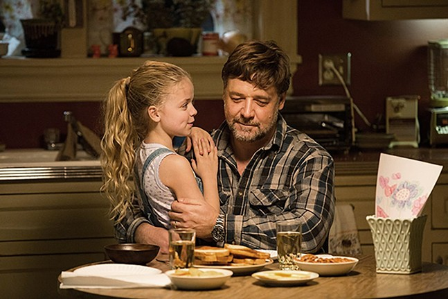 Russell Crowe in Fathers and Daughters, a simpler time before he owed Pennsylvania money. - PHOTO: VERTICAL ENTERTAINMENT