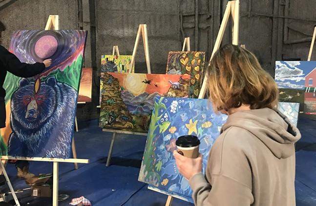 2019 Art All Night Pittsburgh event - ART ALL NIGHT