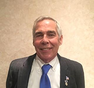 Scott Township board vice president Paul Abel