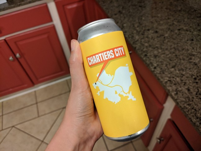 Chartiers City pilsner by East End Brewing - CP PHOTO: AMANDA WALTZ
