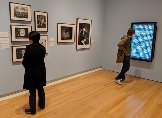 """In Sharp Focus: Charles """"Teenie"""" Harris gallery in the Carnegie Museum of Art, Jan. 26, 2020. - CP PHOTO: AMANDA WALTZ"""