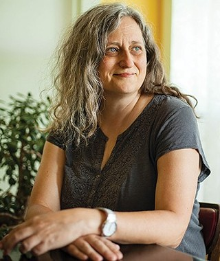 Pittsburgh writer Sherrie Flick - PHOTO: RICHARD KELLY FOR THE PITTSBURGH WRITERS PROJECT
