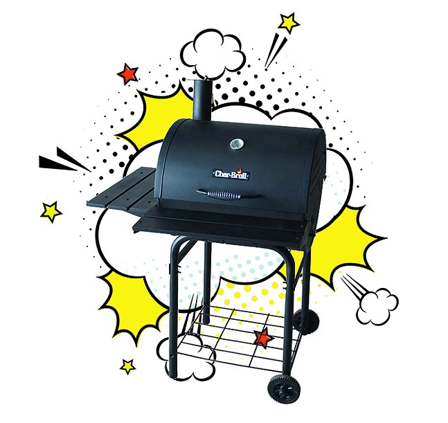 First place Prize: Char-broil American gourmet charcoal grill, donated by Busy Beaver