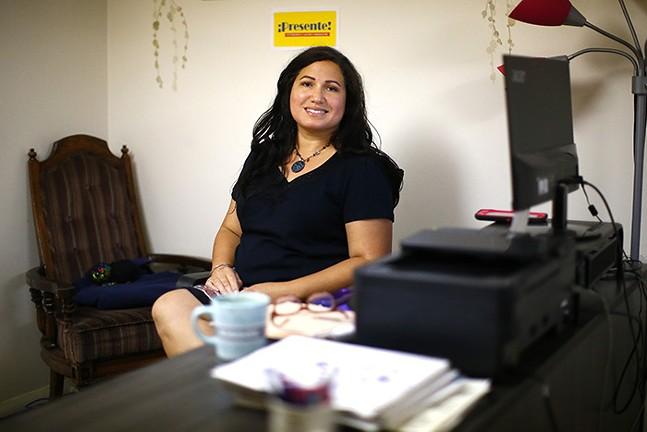 María Manautou Matos, founder of PRESENTE magazine - CP PHOTO: JARED WICKERHAM