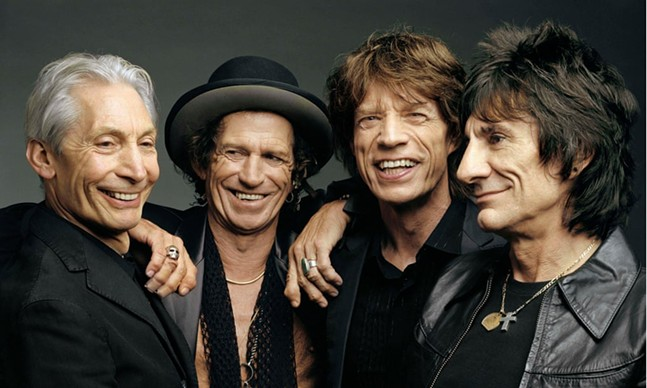 The Rolling Stones - PHOTO: MARK SELIGER
