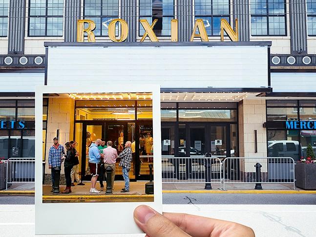 Roxian Theatre in McKees Rocks - CP PHOTOS: JARED WICKERHAM, JARED MURPHY